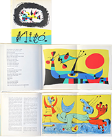 Book with lithographs de  : Joan Miro
