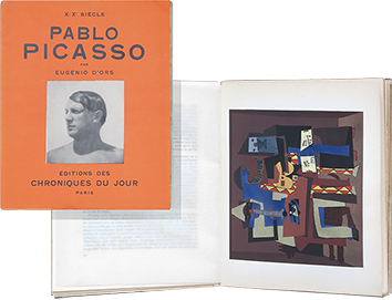 Illustrated book de Picasso Pablo : Pablo Picasso