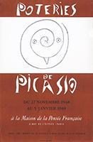 Manifesto Mourlot de  : Poteries de Picasso