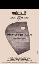 Affiche de Adam Henri-Georges