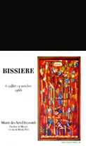 Affiche d'exposition Bissiere Roger