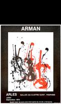 Affiche de Arman