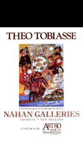 Affiche d'exposition Tobiasse Th�o