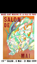 Affiche d'exposition Villon Jacques