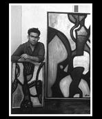 Atlan J-Michel dans son atelier