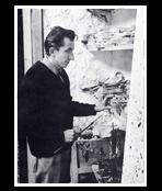 Fiedler François dans son atelier