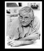 Hockney David dans son atelier
