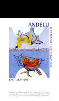 Affiche d'exposition Andelu
