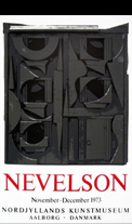 Affiche d'exposition Nevelson Louise