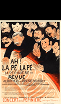 Affiche d'exposition Vallotton F�lix