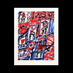 Estampe, lithographie, gravure, Dubuffet Jean