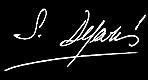 signature manuscrite de Deparis Sylvie