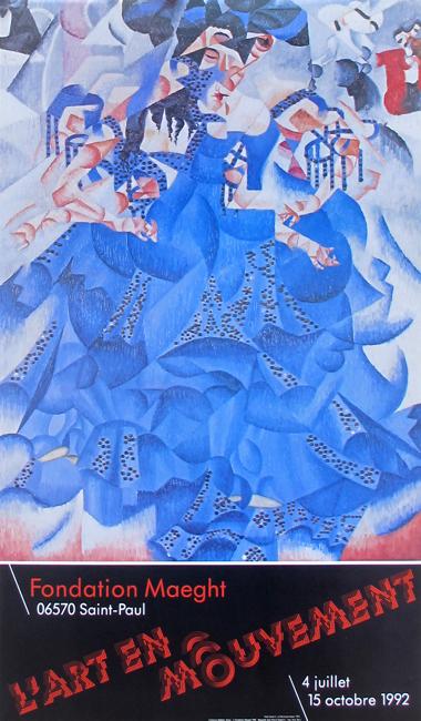 Affiches diverses : Affiche : L'art en Mouvement