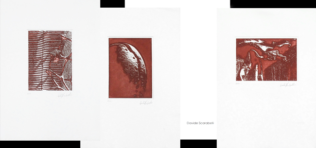 Scarabelli Davide : Original signed etchings : Suite II
