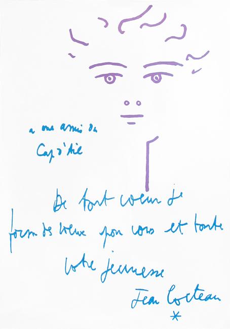 Cocteau Jean : Poster : Cap d'Ail