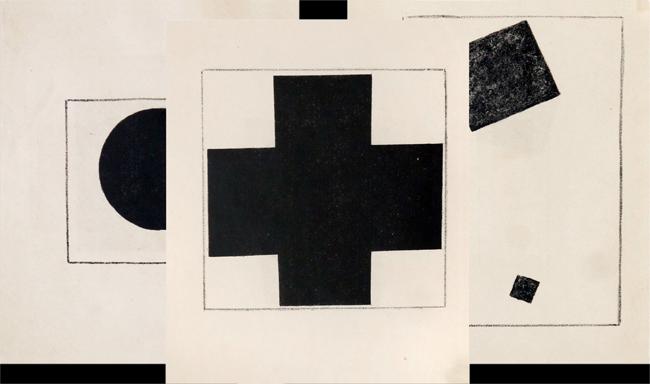 Malévitch Kasimir : Lithographies originales : Suprematizm 34 risunka