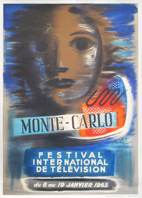Molne Luis : Original poster : Festival of television