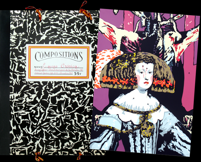 Equipo Cronica : Sérigraphies originales signées : Portfolio Compositions