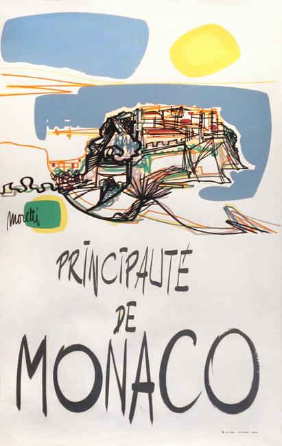 Moretti Raymond : Original poster : Principality of Monaco