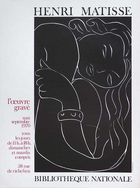 172cb6225b1 Affiche d exposition offset Matisse Henri
