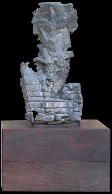 Richier Germaine : Sculpture originale : Palme-Plomb