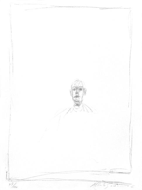 Giacometti Alberto : Lithographie originale signée : Diego