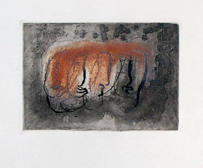 Fautrier Jean : Gravure originale : Orénoque, Planche XI
