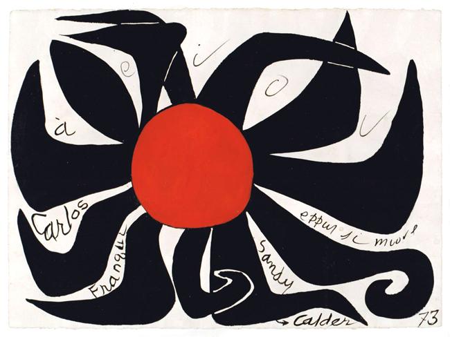 Calder Alexander : Oeuvre unique : Aeiou