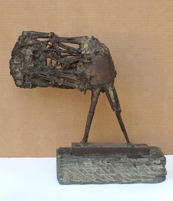 César Baldaccini : Sculpture signée : Petit Valentin