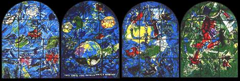 Vitraux de Marc Chagall
