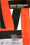 Affiche d'exposition d'Alain cl�ment