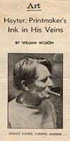Article sur Stanley William Hayter
