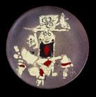 Céramique de Wifredo Lam, 1977