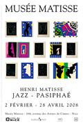 Affiche du Musée Matisse de Nice