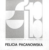 Catalogue d'exposition de F. Pacanowska � Rome