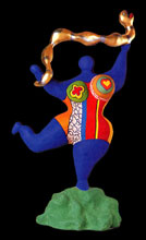 Niki de saint phalle notes of biography prints champetier - Nana de niki de saint phalle ...