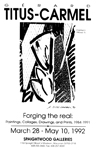 Affiche d'exposition, USA, 1992
