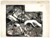 Gauguin Paul - Incisione su legno