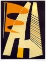 Magnelli Alberto, Lithographie signée