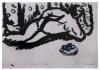 Chagall Marc - Dibujo original