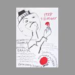 Affiche d'exposition de Penck A.R. : Triennale de Grenchen