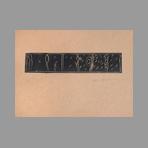 Original signed linocut de Kuroda Aki : Continuity
