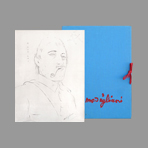 Portfolio with reproductions de Modigliani Amedeo : Fifteen drawings and watercolors