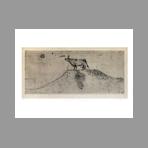 Original signed drypoint de Claud� Annick : Eglantine I�re du pr� d'avant
