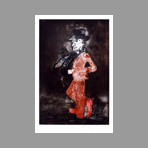 Original signed etching de Segui Antonio : Character, The dancer of tango