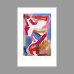 Signed etching carborundum de Arlandis Antoine : R.M. Rilke Intimate portrait 31