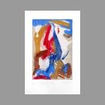 Signed etching carborundum de Arlandis Antoine : R.M. Rilke Intimate portrait 33