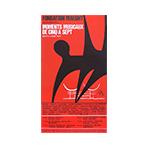 Lithograph poster de  : Moments musicaux de cinq à sept