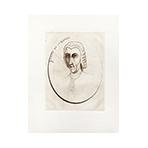 Original signed drypoint de  : Joseph de La Borde