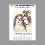 Chagall Marc - A propos du dessin